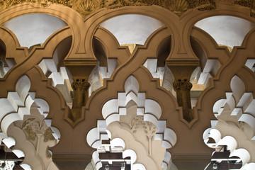 detalle arcos palacio de la aljaferia 5