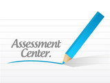 assessment center message illustration