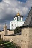 View of the Pskov Kremlin  Russia city of Pskov poster
