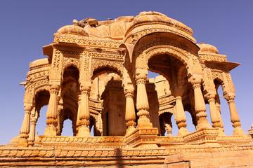 cenotaph of Bada Bagh Jaisalmer Rajasthan