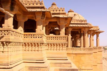 cenotaph's, Bada Bagh Jaisalmer Rajasthan India