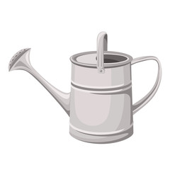 Watering can. Vector illustration.
