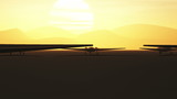 Military Drones Base 3D animation