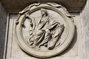 Justitia am Palazzo Montecitorio