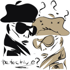 Private detective woman