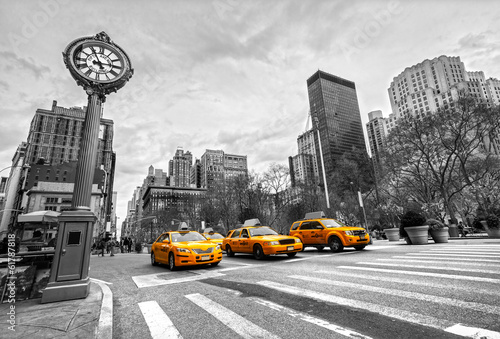 Papiers peints New York TAXI New York City, USA.