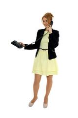 Kobieta i telefon
