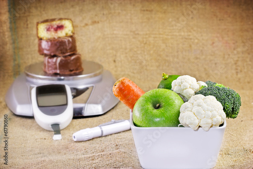 Healthy diet is a way to avoid diabetes