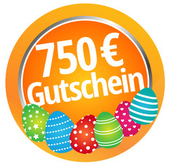 750 Euro Gutschein