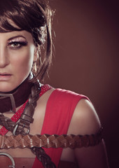 fashion shots 01/girl with leather belts