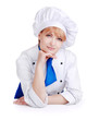 Portrait of a beautiful chef woman