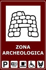 CARTELLO SITO ARCHEOLOGICO