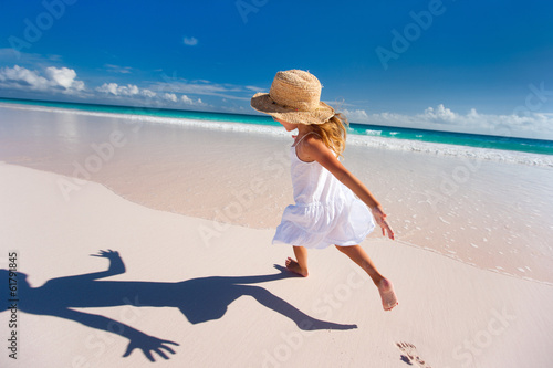 Cute little girl on vacation