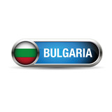 The Bulgarian flag in the form of a glossy icon.