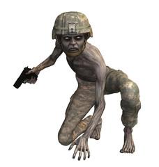 zombie soldato