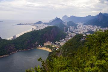 Beach and mountains, Rio de Janeiro, Brazil