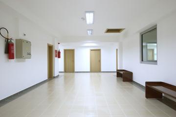 Empty corridor interio