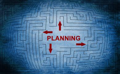 Planning maze