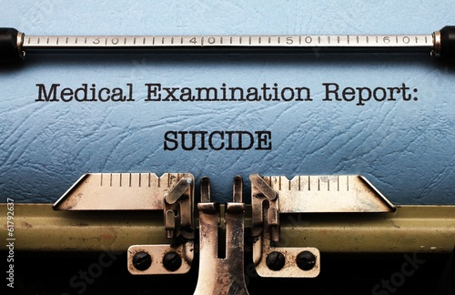 Suicide medical report