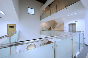 Modern staircase office  interior