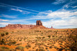 canvas print picture - Monument Valley