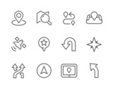 Thinline Navigation Icons