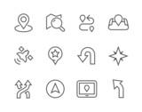 Thinline Navigation Icons