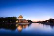 the turret of beijing forbidden city