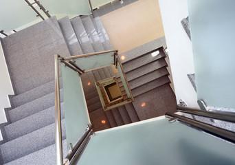 stairs in modern interior