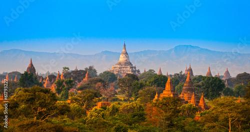 Papiers peints Autre Bagan, Myanmar.