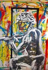 graffiti soldier