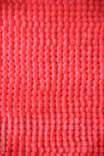 Red fabric dotted texture