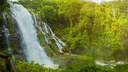 Wachirathan Waterfall. Thailand, Chang Mai