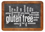 gluten free word cloud