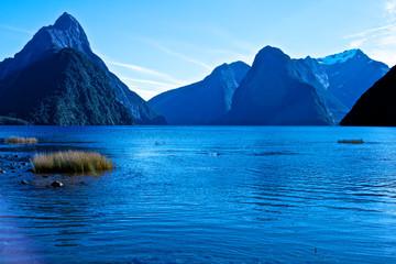 Montagne, eau et glacier du Pacifique sud 1