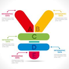 yen currency symbol info-graphics concept vector
