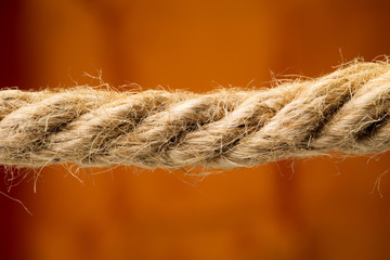 Close-up rope