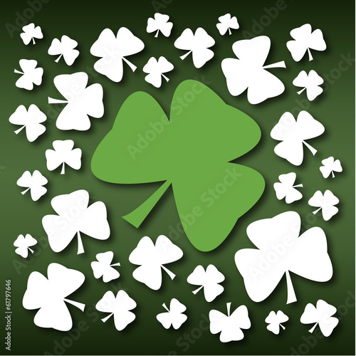 St Patricks Day Green Shamrock
