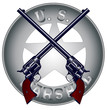 Постер, плакат: US Marshal Guns and Badge