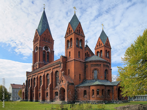 Cathedral of Saint Michael Archangel in Chernyakhovsk, Russia
