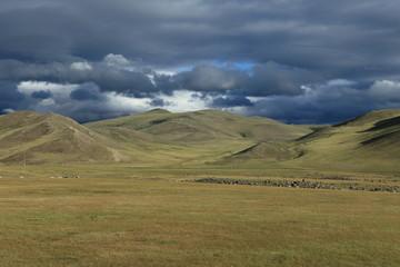 Das Orkhon Tal in der Mongolei