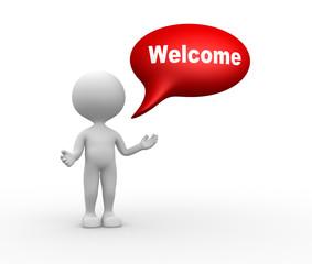 Welcome gesture