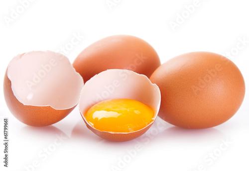 Leinwanddruck Bild Eggs