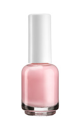 Pink nail varnish