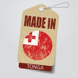 Made in Tonga . Tag .