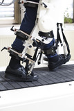 Robot Machine Helping Disabled Man To Walk Again