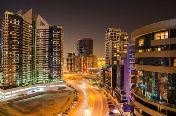 Dubai (United Arab Emirates) at night