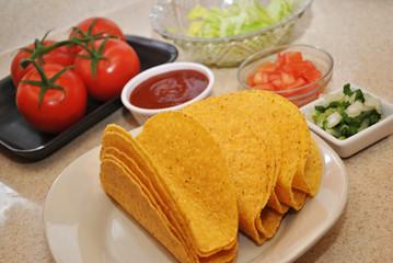 Ingredients to Make Fresh Tacos