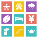 Icons for Web Design and Mobile Applications set 7