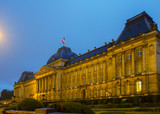 The Royal Palace of Brussels at night
